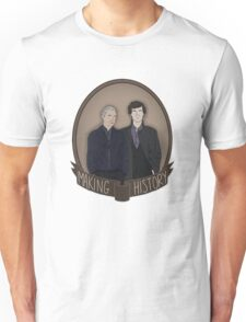 Sherlock And John - Making History Unisex T-Shirt