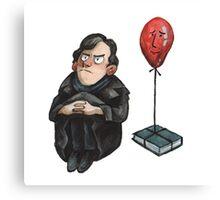 Sherlock And John Balloon TST Canvas Print