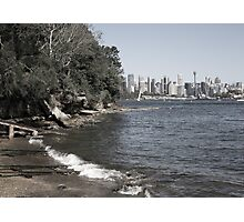 Sydney City   Greenwhich Baths Photographic Print