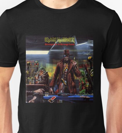 IRON MAIDEN - STRANGER IN A STRANGE LAND Unisex T-Shirt