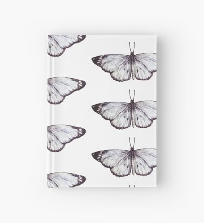 Butterfly drawing II Hardcover Journal