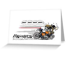 Brakes Stronger Camshaft Greeting Card