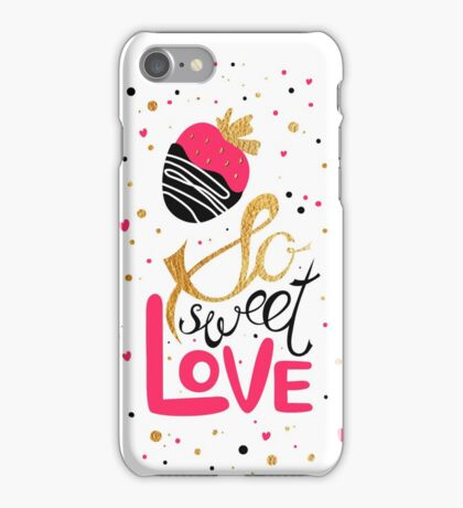 So sweet love iPhone Case/Skin