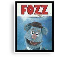 Fozz by Steven Spielberg Canvas Print