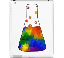Rainbow Erlenmeyer iPad Case/Skin
