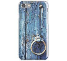 Old Blue Door iPhone Case/Skin