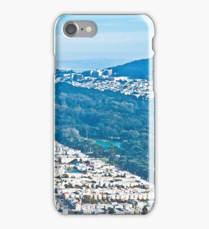Golden Gate Park and Sutro iPhone Case/Skin