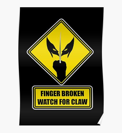 Watch for Claw! Poster