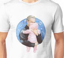 John Watson with Baby Rosamund Mary Watson Unisex T-Shirt