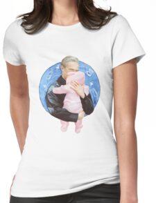 John Watson with Baby Rosamund Mary Watson Womens Fitted T-Shirt