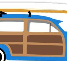 Woody Surf Wagon  Sticker