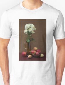 Still life with chrysanthemums T-Shirt