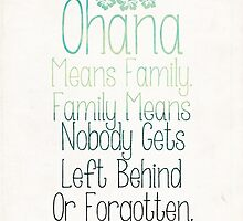 Ohana by ZantheClothing
