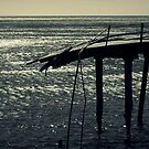 End Of The Jetty by Ben Loveday