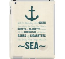 You Be The Anchor... iPad Case/Skin