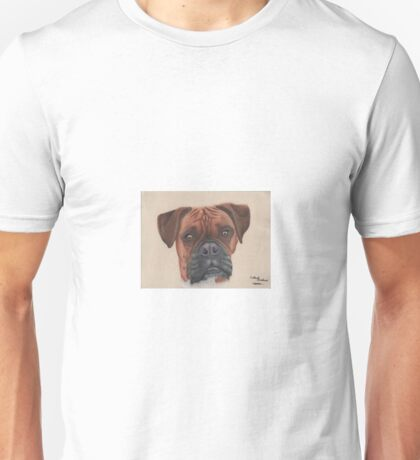 A Boxer dog Unisex T-Shirt