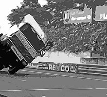 """Unique and rare 1980 Race Trucks France 9 (n&b) (t) """" fawn paint Picasso ! Olao-Olavia by Okaio Créations by Okaio - caillaud olivier"""