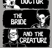 The doctor, the bride and the creature by CarloJ1956
