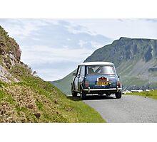 The Three Castles Welsh Trial - Mini Cooper - Photo Max Earey Photographic Print