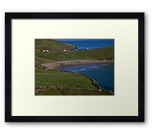 Traloar Beach, Muckross Head, Donegal Framed Print