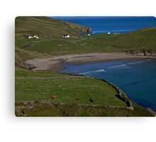 Traloar Beach, Muckross Head, Donegal Canvas Print