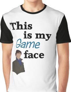 Game Face Graphic T-Shirt