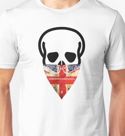 British Skull Gangster Unisex T-Shirt