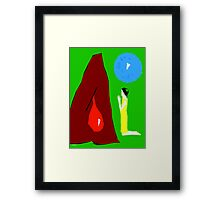 PRAYING FOR A MIRACLE Framed Print