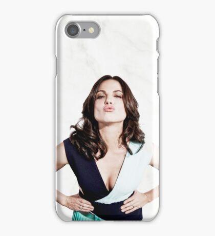 Lana Parrilla - Mwah iPhone Case/Skin