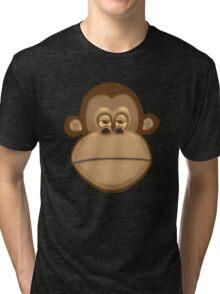 Meh Monkey Tri-blend T-Shirt
