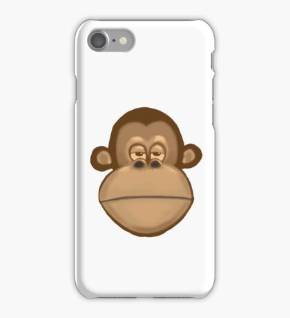 Meh Monkey iPhone Case/Skin