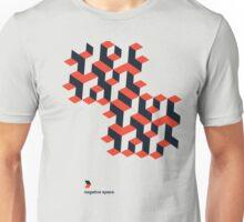 Modernist Negative Space Unisex T-Shirt