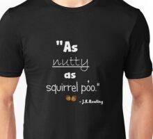 Nutty Poo dark Unisex T-Shirt