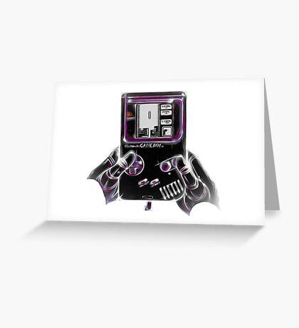 Nintendo Game Boy Greeting Card