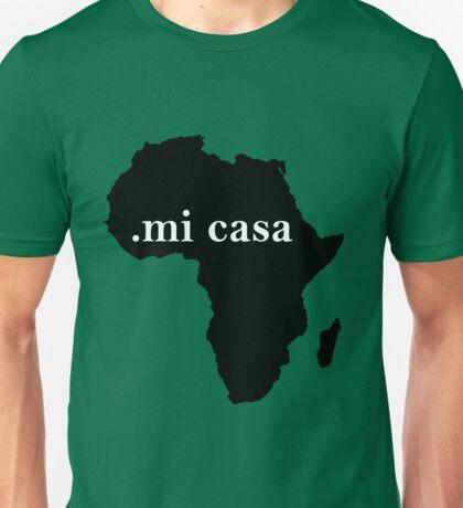 mi casa africa Unisex T-Shirt