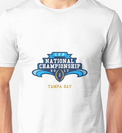 2017 College Football Playoff Championship Unisex T-Shirt