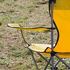 yellow chair in the meadow by spetenfia