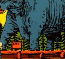 Blue Ox Babe Redwood Highway California Vintage Travel Decal Sticker