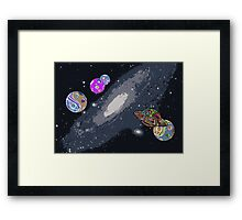 Lost In Space I Framed Print