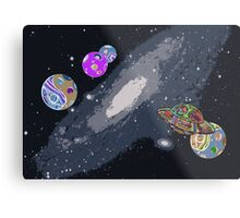 Lost In Space I Metal Print