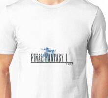 Final Fantasy 1 Logo Unisex T-Shirt
