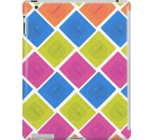 Sega Saturn neon (white) iPad Case/Skin