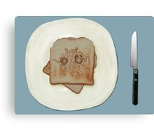 Blessed Noodly Appendages On Toast 2013 Canvas Print