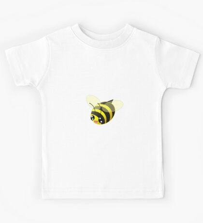 Cute Bee [Pattern] Kids Tee