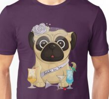 Bachelorette Pug Unisex T-Shirt