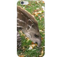 Tapir Calf iPhone Case/Skin