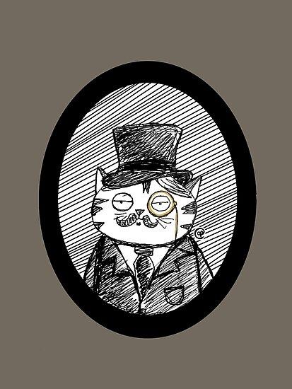 Fancy Cat by jrock1184