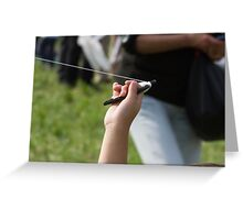 kite accessory Greeting Card