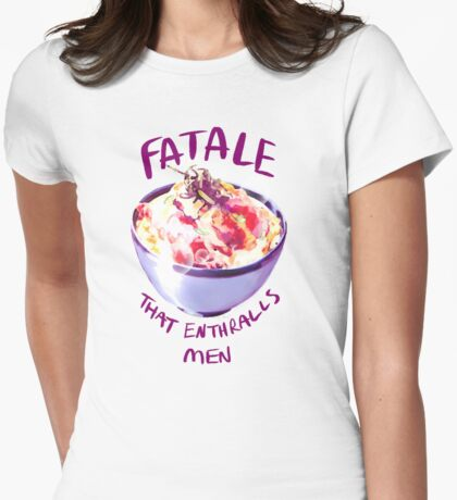 Fatale Katsudon Womens Fitted T-Shirt