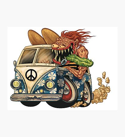 hippy ride surf monster Photographic Print